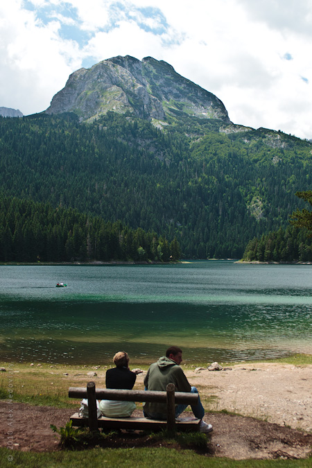 A view to Black lake, Durmitor, Montenegro © 2010 Alex Nedoviziy