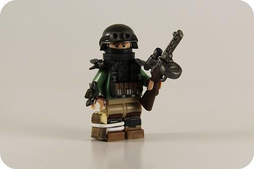 Custom minifig Communist.