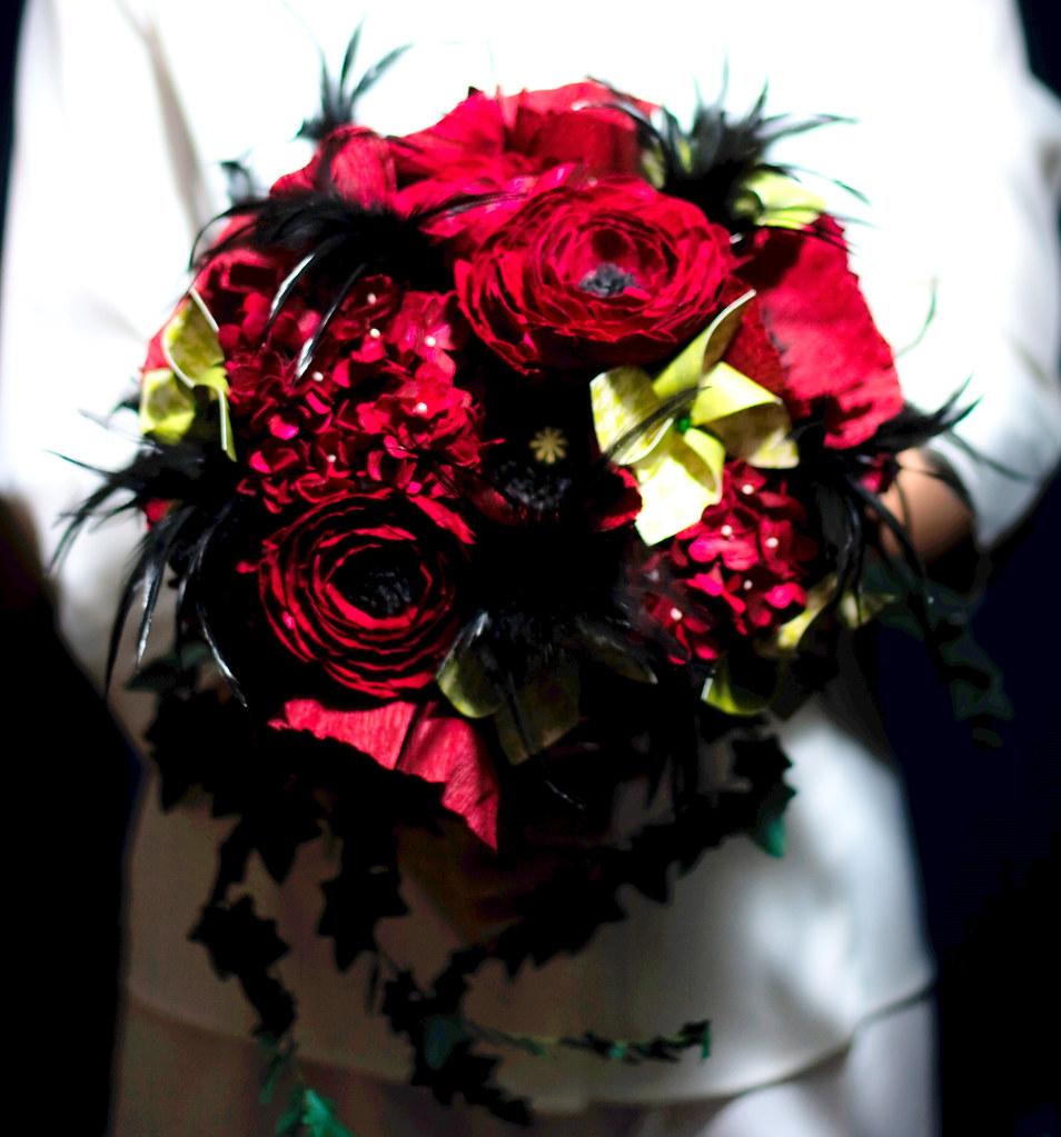 classic paper flower bouquet