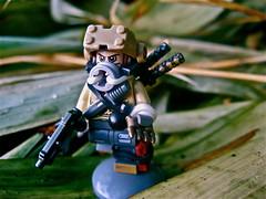 Jungle ((Iris)) Tags: painting amazing lego ninja knife link armory combat ammo swords visor brickarms