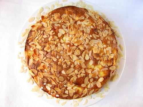 Torta di mele, mandorle e marsala