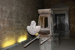 Naos - Edfu Temple (Walwyn) Tags: temple egypt horus basrelief edfu ptolemaic naos cella walwyn