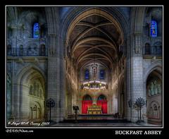 Buckfast Abbey ([DEVONshots.com] Lloyd W.A. Cosway) Tags: church architecture catholic gothic alter hdr d300 buckfastabbey devonshotscom coronalucis