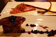 Foie Gras and Tuna Ceviche