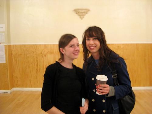 Marci and Amanda
