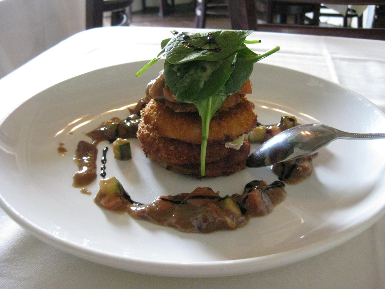 Park Cafe (Duluth) - fried green tomatoes