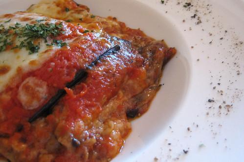 Parmigiana di Melanzane con Mozzarella di Bufala - IMG_2349 copy