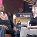 Cinequest 09' Maverick Spirit Award Winner Louis Gossett Jr. gives an interview at the San Jose State Theater