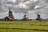Intense and Ominous (Souvik_Prometure) Tags: netherlands windmill zaanseschans flickrsbest souvikbhattacharya
