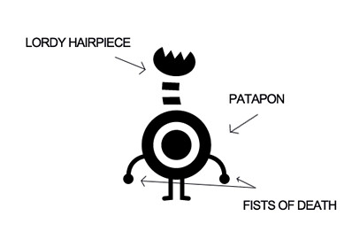 Patapon 2 - Lordy Hairpiece