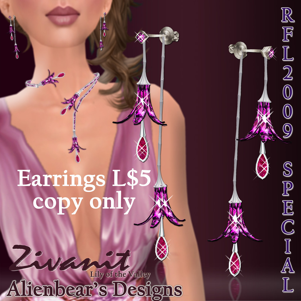 RFL2009 Zivanit earrings special