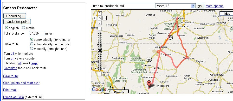 Ride to Gettysburg