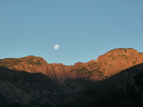 Moonrise over Bolilvia