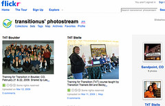 Flickr photostream screenshot