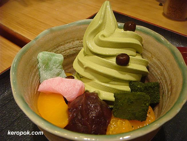 Green Tea Sundae