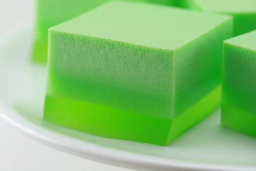 St. Patrick's Day Ice Cream Jello