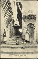Casbah: Rue du Chameau (GRI) (Getty Research Institute) Tags: casbah ll algiers gettyresearchinstitute algiersalgeria rueduchameau chameaustreet oct191909 commons:event=commonground2009