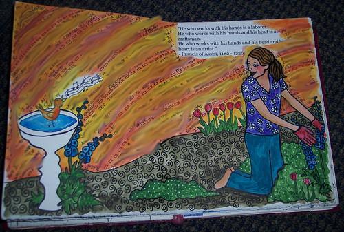 journal garden