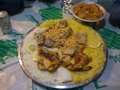 Thursday lunch - madfoon (BoydJones) Tags: chicken cuisine rice middleeast arabic saudi lamb riyadh ksa madfoon