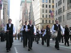 Bagad Saint Nazaire NYC 5th Avenue (Kornofulgure) Tags: new york city saint day patricks avenue 5th nazaire bagad