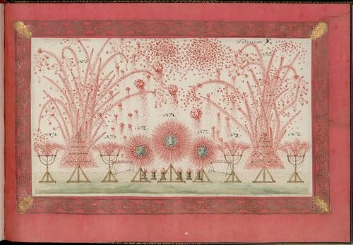 Projet du feu d'artifice tiré à Versailles en présence de sa majesté Louis XV, le 15 mai 1771, à l'occasion du mariage de Monseigneur le comte de Provence et de Marie-Joséphine de Savoie