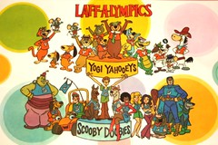 Laff-A-Lympics Edited (slappy427) Tags: jonnyquest spaceghost scoobydoo 1970s flintstones babu jetsons hongkongphooey muttley yogibear captaincaveman bettyrubble huckleberryhound fredflintstone barneyrubble hannabarbera johnnyquest topcat dynomutt saturdaymorningcartoons wilmaflintstone wallygator 1960s quickdrawmcgraw pixieanddixie speedbuggy scoobydum hokeywolf laffalympics teenangels pebblesandbammbamm dinoflintstone augiedoggieanddoggydaddy