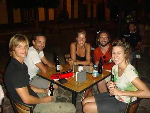 Me, Toon, Guillermina, Adam, and Amie in Granada, Nicaragua.