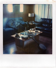 (Raymond Molinar) Tags: ca camera film polaroid sx70 long exposure time tripod couch land expired zero brea couches surfin
