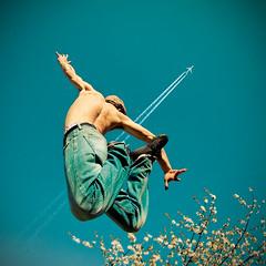 Jumpin' jack flash, le cerisier en fleurs et le vol Air France AF5169