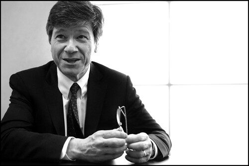 Jeffrey Sachs, one of world's leading economists, at the EP