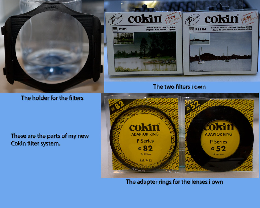 My new Cokin filter system