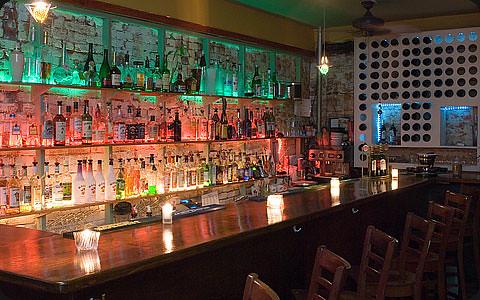 Mmmm. Look at that classy bar.