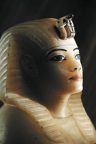 Canopic stopper of Tutankhamun