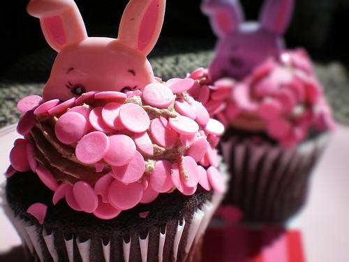 simple easter bunny cupcakes. Easter Bunny Cupcakes