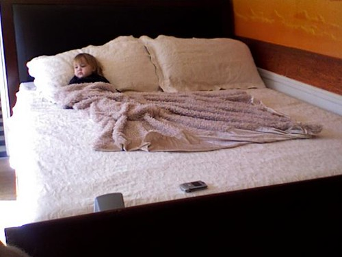 Sleigh Bed with Serta Memory Foam Posturepedic $2000 OBO