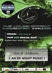 10 Aprilie 2009  » 1 an de Night Music