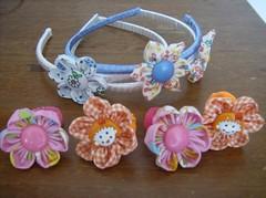 Presentinhos para uma menininha (Suelane Sousa) Tags: de flor infantil fuxico