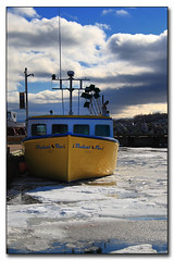 Awaiting spring (corporallouis) Tags: fishingboats northsydney longliner icebound