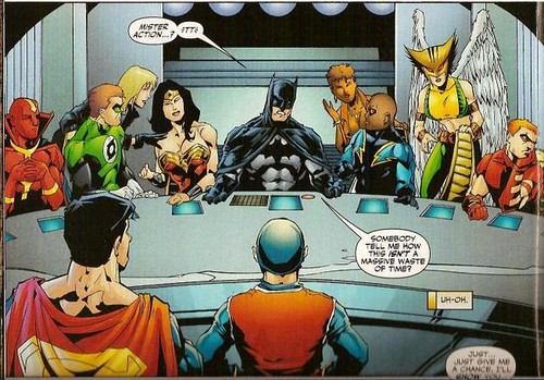 Batman-LastSupperJLAmeeting