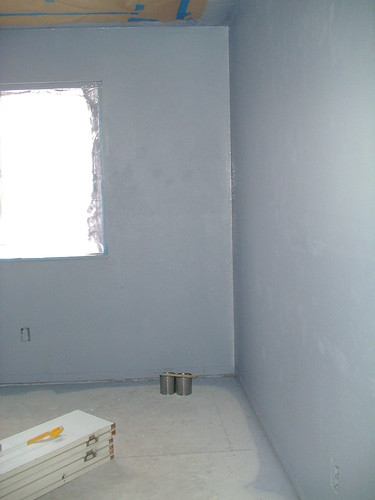 1/2 tint girls room ( will be periwinkle when done)
