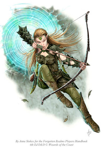 Cormanthor Scout by Anne Stokes