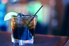 (ginnerobot) Tags: ice glass 50mm drink bokeh straw coke lime f18 jackandcoke maxandermas drinkspecial idkwhythelimelookssoweird