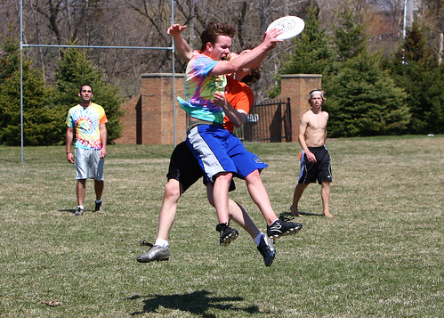 Mu Alpha Ultimate Frisbee Tournament