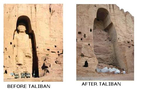 BUDDHA BEFORE AND AFTER TALIBAN