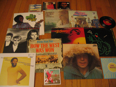 Anne's Record Store Day Haul