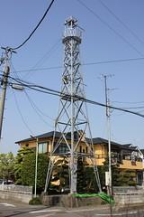 鴨田中居田の火の見櫓(川越市)