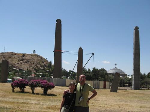 Axum, stelae