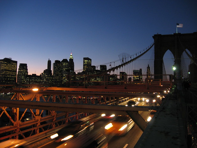 El Puente de Brooklyn y Manhattan
