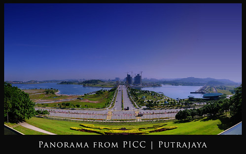 Panoramic View from PICC | Putrajaya