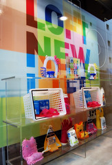 Loft: Sannomiya (jpellgen (@1179_jp)) Tags: window japan retail loft advertising japanese store spring nikon asia display kobe 日本 nippon 1855mm nikkor kansai campaign 2009 nihon hyogo 神戸 sannomiya kinki honshu 三宮 d40 loftnewlife